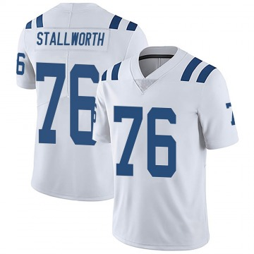 Youth Nike Indianapolis Colts Taylor Stallworth White Vapor Untouchable Jersey - Limited