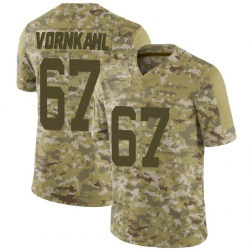 Youth Nike Indianapolis Colts Travis Vornkahl Camo 2018 Salute to Service Jersey - Limited