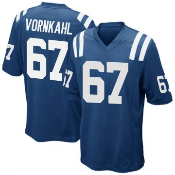 Youth Nike Indianapolis Colts Travis Vornkahl Royal Blue Team Color Jersey - Game