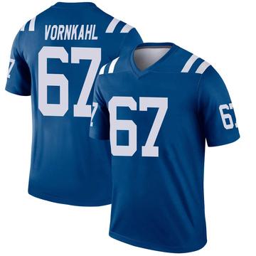 Youth Nike Indianapolis Colts Travis Vornkahl Royal Jersey - Legend