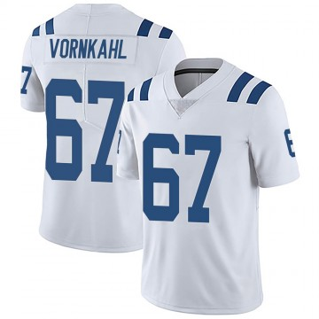 Youth Nike Indianapolis Colts Travis Vornkahl White Vapor Untouchable Jersey - Limited