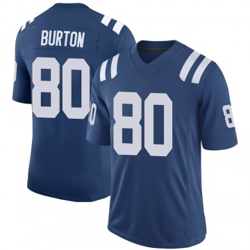 Youth Nike Indianapolis Colts Trey Burton Royal 100th Vapor Jersey - Limited