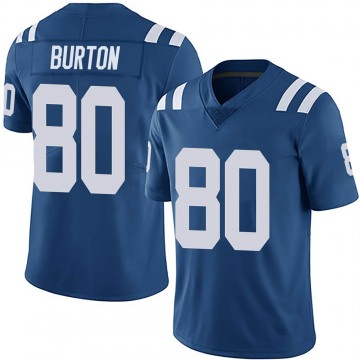 Youth Nike Indianapolis Colts Trey Burton Royal Team Color Vapor Untouchable Jersey - Limited