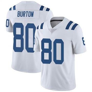 Youth Nike Indianapolis Colts Trey Burton White Vapor Untouchable Jersey - Limited
