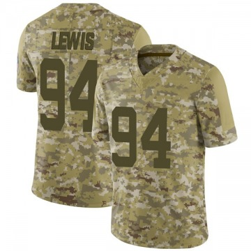 Youth Nike Indianapolis Colts Tyquan Lewis Camo 2018 Salute to Service Jersey - Limited