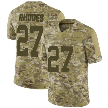 Youth Nike Indianapolis Colts Xavier Rhodes Camo 2018 Salute to Service Jersey - Limited
