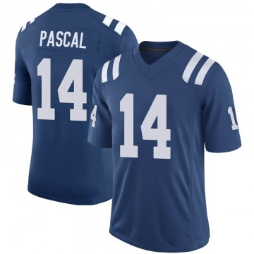Youth Nike Indianapolis Colts Zach Pascal Royal 100th Vapor Jersey - Limited