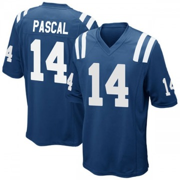 Youth Nike Indianapolis Colts Zach Pascal Royal Blue Team Color Jersey - Game