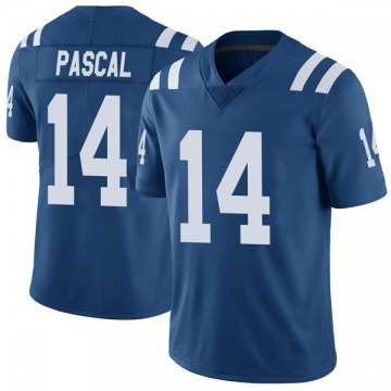 Youth Nike Indianapolis Colts Zach Pascal Royal Color Rush Vapor Untouchable Jersey - Limited