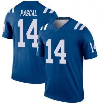 Youth Nike Indianapolis Colts Zach Pascal Royal Inverted Jersey - Legend