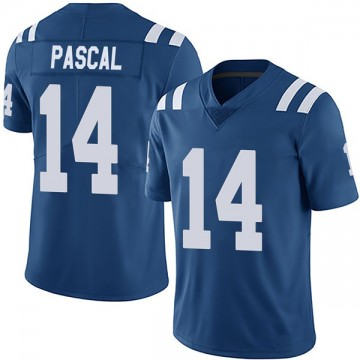 Youth Nike Indianapolis Colts Zach Pascal Royal Team Color Vapor Untouchable Jersey - Limited