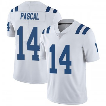 Youth Nike Indianapolis Colts Zach Pascal White Vapor Untouchable Jersey - Limited