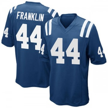 Youth Nike Indianapolis Colts Zaire Franklin Royal Blue Team Color Jersey - Game