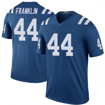 Youth Nike Indianapolis Colts Zaire Franklin Royal Color Rush Jersey - Legend
