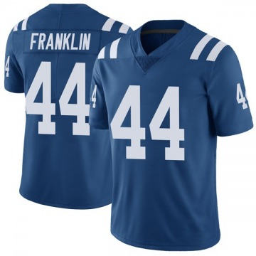 Youth Nike Indianapolis Colts Zaire Franklin Royal Color Rush Vapor Untouchable Jersey - Limited