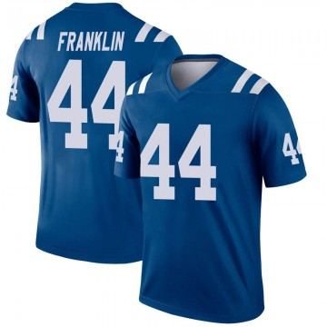 Youth Nike Indianapolis Colts Zaire Franklin Royal Inverted Jersey - Legend