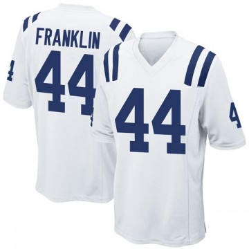 Youth Nike Indianapolis Colts Zaire Franklin White Jersey - Game