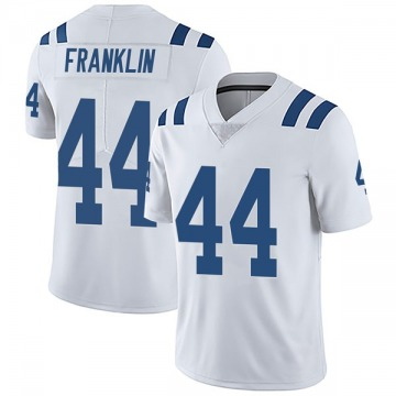 Youth Nike Indianapolis Colts Zaire Franklin White Vapor Untouchable Jersey - Limited